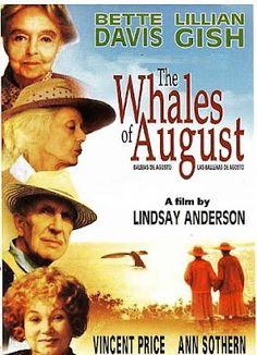 Bette Davis, Lillian Gish WHALES OF AUGUST (1987) Vincent Price, Ann Sothern, Harry Carey, Jr.  FREE SHIP USA http://rarefilmclassics.blogspot.com/2012/05/bette-davis-lillian-gish-whales-of.html