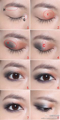 Eye make-up techniques