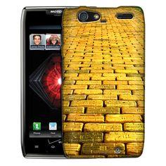 Motorola Droid Razr Maxx Yellow Brick Road Slim Case