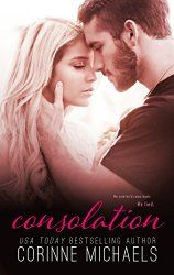 Consolation (Consolation Duet #1) by Corinne Michaels - 5 star book! | Curled Up and Cozy
