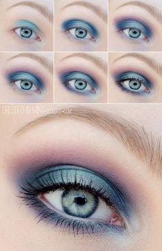 Ślicznie pomalowane oko