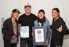 Metallica broke a world record by playing on all 7 continents in one year!!!