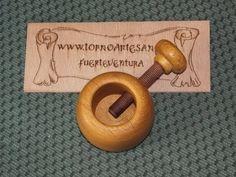 #77 Roscas de madera - Wooden threads