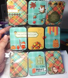 Jump For Joy over Fall Pocket Letter by StampinDeedee - Cards and Paper Crafts at Splitcoaststampers Paper Pocket, Pocket Cards, Pen Pal Letters, Pocket Letters, Atc Cards, Journal Cards, Junk Journal, Pocket Page Scrapbooking, Scrapbooking Ideas