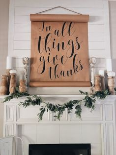 """Vintage Farmhouse Decor """"A DIY How-To For The Farmhouse Shiplap Fireplace Of Your Dreams"""" Want to turn your drab fireplace and mantel into a shiplap, farmhouse-inspired focal point? This DIY How-To is just the thing for you. Farmhouse Bedroom Decor, Farmhouse Style Kitchen, Modern Farmhouse, Vintage Farmhouse, Country Farmhouse, French Country, Shiplap Fireplace, Fireplace Furniture, Farmhouse Fireplace"""