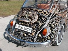 Silver filigree Beetle by Vrbanus ~ beautiful