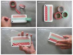 DIY customized phone case