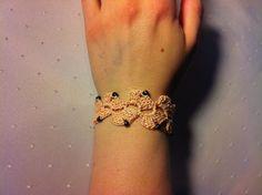 Gehäkeltes Armband Nr. 4