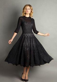 Lace Knitting, Knitting Stitches, Crochet Lace, Knitting Machine, Knitting Patterns, Diy Dress, Dress Skirt, Lace Dress, Wedding Skirt