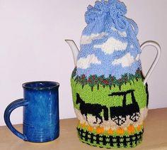Autumn Splendor Tea Cozy by Deborah Tomasello