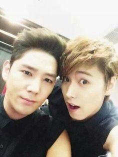 Kangin and Sungmin