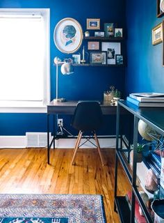 House Tour: A First-Time Home Buyer's Colorful Reno | Apartment Therapy