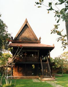 Khmer house in Siem Reap