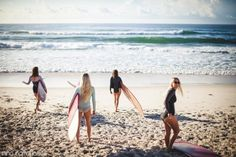 surfin' with the girls