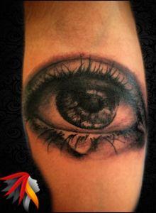 Eye Tattoo Work Artist: by Mali www.malitattoo.com