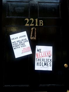 #believeinsherlock Damn it, this shouldn't make me want to cry.   Guys, we need to do this soon. @Andie Smith @Caroline Deucher