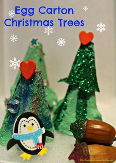 1000 images about toddler craft ideas on pinterest for Christmas decorations using egg cartons