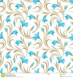 Motif Design, Pattern Design, Floral Design, Scrap, Lawn Fabric, Blue Pottery, Indian Paintings, Fabric Samples, Paper Background