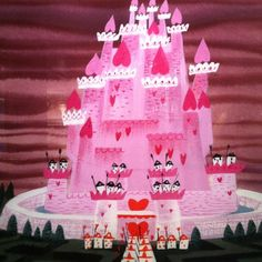 Concept art by Mary Blair for Walt Disney's Alice In Wonderland ...