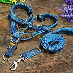 Cowboy Harness Leashes for Pets Dogs Assorted Color – USD $ 14.09