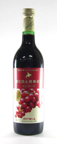 Hakodate Wine; 北海道函館・赤・やや甘口。味が日本風というか、クセがないけど少し物足りない。氷とか入れてジュースみたいに飲んだ方がおいしかった。