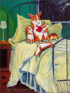 Cute Corgi, Corgi Dog, Corgi Drawing, Corgi Pictures, Pembroke Welsh Corgi, Illustrations, Cute Animals, Art Prints, Pets