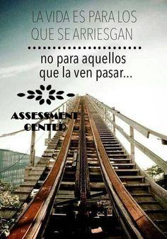 Arriesgate! #PiensaenGrande #Motivaciones #AssessmentCenter #MotivacionesAssessmentC