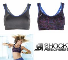 Shock Absorber Active Multi Sports Bra S4490 Sizes 32-40 B-HH Red//Lime.