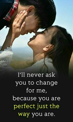 #pisitivequotes Cute Couple Quotes, Couples Quotes For Him, Quotes For Your Boyfriend, Simple Love Quotes, Love Quotes For Him Romantic, First Love Quotes, Sweet Love Quotes, Love Smile Quotes, Beautiful Love Quotes