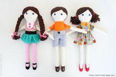 Mimin Dolls: tutorial - the make it and love it