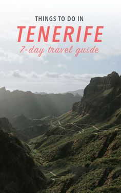Things to do in Tenerife Canary Islands including food to try restaurants photography spots beaches and other travel tips. Tenerife, Places To Travel, Travel Destinations, Holiday Destinations, Romantic Destinations, Travel Guides, Travel Tips, Travel Hacks, Africa Travel