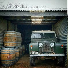 """""""I cook with wine, Sometimes I even add it to the food!"""" #Landrover #Series II"""