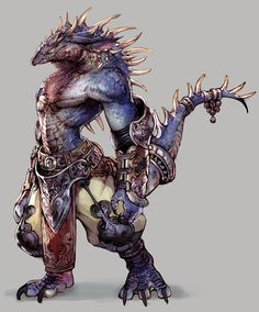 Lizard men: Known to dwell in swamp/marsh areas normally