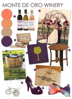 Venue Inspiration: Monte De Oro Winery -repinned from LA County, California marriage officiant https://OfficiantGuy.com #ceremony #officiant #laweddingofficiants