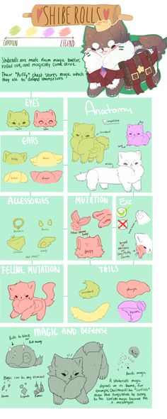 ShibeRolls OPEN Species by MilkGDoll on DeviantArt