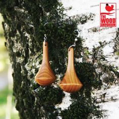Wood Handmade Earrings
