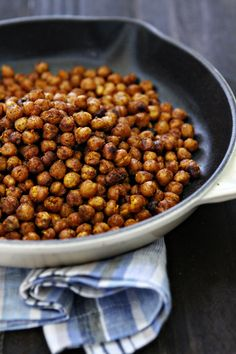 chili lime roasted chickpea snack