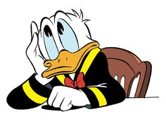Donald Duck by Carl Barks Disney Duck, Disney Mickey, Disney Art, Duck Pictures, Disney Pictures, Looney Tunes Cartoons, Disney Cartoons, Walt Disney Characters, Cartoon Characters
