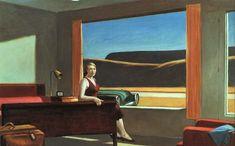 // Edward Hopper. Western Motel. Realismo emocional de sus pinturas.