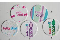 Mini tarjetas Feliz día Paquete 10 pzas por Tianguisonline en Etsy