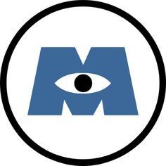 Items similar to Monsters Inc University silhouette vinyl decal disney pixar on Etsy Monsters Inc Logo, Monsters Inc Doors, Monster Inc Birthday, Monster Inc Party, Monsters Inc Halloween, Monster Inc Costumes, Party Fiesta, Images Disney, Disney Diy