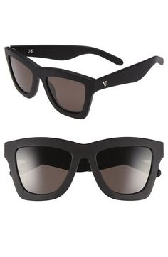 514244597e VALLEY  DB  52mm Oversized Sunglasses available at  Nordstrom Oversized  Glasses