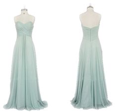 Long bridesmaid dress  Bridesmaids Dresses Bridesmaids Dresses. Love the style and color!