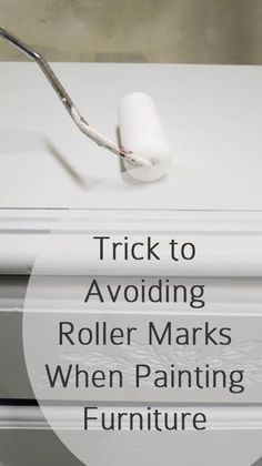 Tips And Tricks To Ensure A Perfect Paint Job The Trick to Avoiding Roller Marks When Painting. A few easy tricks that make all the difference.The Trick to Avoiding Roller Marks When Painting. A few easy tricks that make all the difference. Furniture Repair, Paint Furniture, Furniture Projects, Furniture Makeover, Furniture Design, Modern Furniture, Furniture Refinishing, Plywood Furniture, Kitchen Furniture