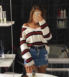 Womens Fashion Vintage Outfits Skirts Ideas For 2019 Swag Outfits, Girly Outfits, Casual Summer Outfits, Trendy Outfits, Fall Outfits, Vintage Outfits, Flannel Outfits, Fashion Vintage, Teenage Outfits