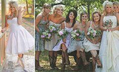 Miranda Lambert's wedding...Cowboy boots!!