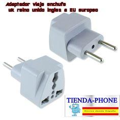 Adaptador enchufe corriente de USB EEUU americano ASIA a Europeo europa nuevo