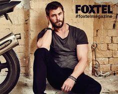 Chris Hemsworth for FOXTEL Magazine - August 2016