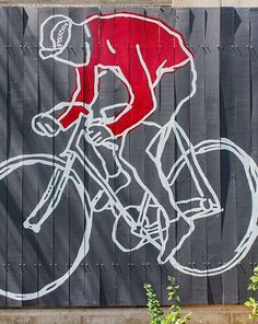 The Rider mural on the outside of our new home here in Milwaukee. This image of…