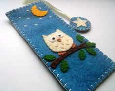 DELIVERY AFTER CHRISTMAS Felt bookmark kite flying by DusiCrafts